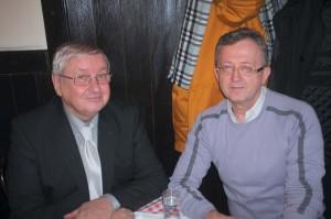 Dr Milan Radović i prim dr Ljubinko Todorović Beograd, 22.12.2015. godine Foto: Ljubinko Todorović
